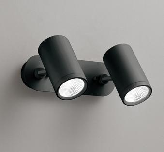 ◎ODELIC LEDスポットライト 直付け用(フレンジタイプ) LED一体型 白熱灯60W×2灯相当 専用調光器対応 昼白色 ワイド配光 100V OS256483