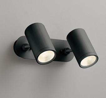 ◎ODELIC LEDスポットライト 直付け用(フレンジタイプ) LED一体型 白熱灯60W×2灯相当 専用調光器対応 電球色 ワイド配光 100V OS256484
