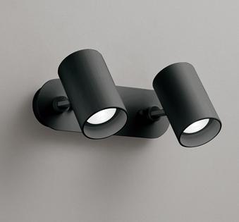 ◎ODELIC LEDスポットライト 直付け用(フレンジタイプ) LED電球ミニクリプトンレフ形 白熱灯60W相当×2灯 E17口金(ランプ付) 昼白色 ワイド配光 非調光 100V OS256502ND
