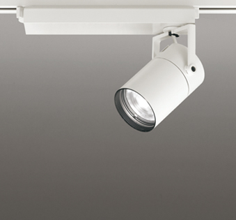 ◎ODELIC LEDスポットライト TUMBLER 配線ダクトレール用 CDM-T35W相当 オフホワイト 16° 2700K~5000K  Bluetooth調光・調色 専用リモコン対応 XS512181BC (リモコン別売)