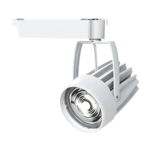 ◎OKAMURA 配線ダクトレール用 LEDスポットライト エコ之助スーパー鮮度クン LED54W 温白色(3500K) ワイド配光(Wレンズ) 高演色・高彩度 本体色:白 OECD-3S/RHN50(Wレンズ)