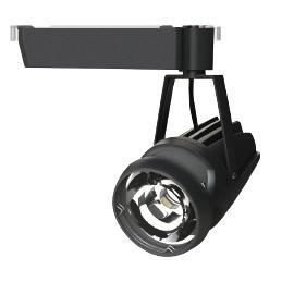 ワイド配光(32°) 食品専用照明 OECD-4/RHN20C(32°) 配線ダクトレール用 LEDスポットライト 光漏れ型 本体色:黒(ブラック) 温白色(3500K) LED一体型 OKAMURA スーパー鮮度くん高演色+高効率タイプ 20Wクラス