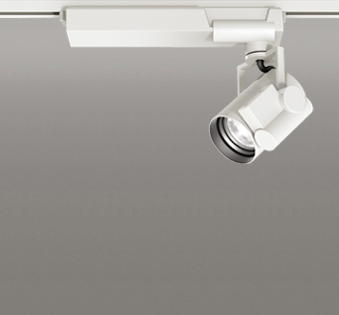 ◎ODELIC 配線ダクトレール用LEDスポットライト CDM-T35W相当 高演色タイプ LED一体型 温白色 Bluetooth調光 配光17°~48° オフホワイト 専用リモコン必要(別売) OS030007HBC