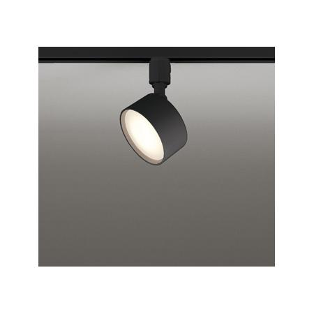 ◎ODELIC 配線ダクトレール用 LEDスポットライト 白熱灯60W相当 LED電球フラット形(ランプ付) 電球色~昼光色・フルカラー Bluetooth調光・調色 壁面取付可能型 配光105° 専用リモコン対応(別売) OS256572BR
