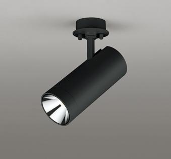 ◎ODELIC LEDスポットライト 直付け用 白熱灯100W相当 高演色LED「R15」 LED一体型 グレアレス 電球色/昼白色 光色切替調光 配光35° 壁面取付可能型 ブラック 専用調光器対応(別売) OS256656R