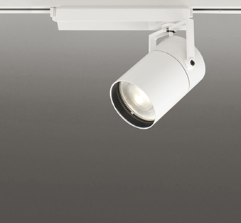 ◎ODELIC LEDスポットライト TUMBLER 高効率タイプ 配線ダクトレール用 CDM-T150W相当 オフホワイト 71° 45VA 電球色 3000K 調光非対応 XS511153