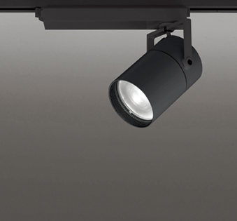 ◎ODELIC LEDスポットライト TUMBLER 高彩色タイプ 配線ダクトレール用 CDM-T150W相当 ブラック スプレッド 45VA 白色 4000K 専用調光リモコン対応(リモコン別売) XS511156HBC