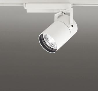 ◎ODELIC LEDスポットライト TUMBLER 高効率タイプ 配線ダクトレール用 CDM-T70W相当 オフホワイト 8° 32VA 温白色 3500K 調光非対応 XS513183
