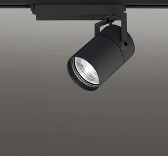 ◎ODELIC LEDスポットライト TUMBLER 高効率タイプ 配線ダクトレール用 CDM-T70W相当 ブラック 8° 32VA 温白色 3500K 専用調光リモコン対応(リモコン別売) XS513184BC