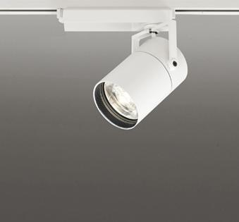 ◎ODELIC LEDスポットライト TUMBLER 高彩色タイプ 配線ダクトレール用 CDM-T70W相当 オフホワイト 8° 32VA 電球色 3000K 調光非対応 XS513185H