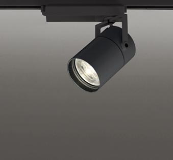 ◎ODELIC LEDスポットライト TUMBLER 高彩色タイプ 配線ダクトレール用 CDM-T70W相当 ブラック 8° 32VA 電球色 3000K 調光非対応 XS513186H