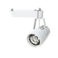 ◎OKAMURA 配線ダクトレール用 LEDスポットライト エコ之助 鮮度クン 40W(セラメタ 70W相当) 遮光タイプ 3500K(温白色)相当 Wレンズ 本体色:白 OECD-3S/HN40(Wレンズ)