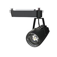 ◎OKAMURA 配線ダクトレール用 LEDスポットライト エコ之助 鮮度クン 40W(セラメタ 70W相当) 遮光タイプ 2700K(電球色)相当 Mレンズ 本体色:黒 OECD-4S/HL40(Mレンズ)