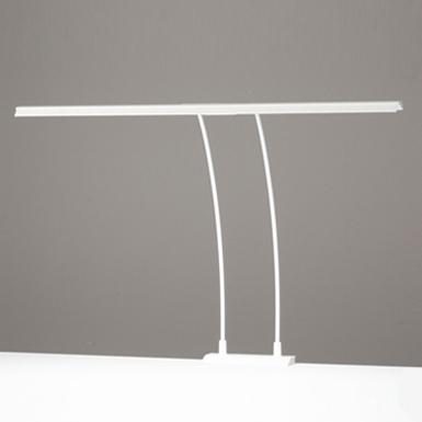 ◎ODELIC LEDデスクライト T-Line ワイドタイプ LED一体型 クランプタイプ 昼白色 調光タイプ(100%-40%) 光束1800lm OT888006