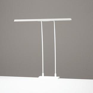 ◎ODELIC LEDデスクライト T-Line スタンダードタイプ LED一体型 クランプタイプ 昼白色 調光タイプ(100%-40%) 光束1200lm OT888007