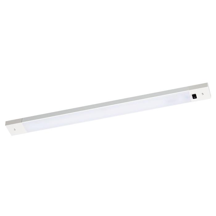 ◎yamada Z-LIGHT(ゼットライト) LED棚下照明 白熱80W相当 昼白色(5000K) 本体色:ホワイト ZM-015W