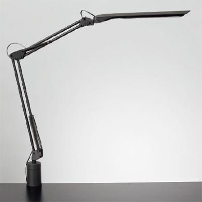 ◎yamada LEDデスクスタンド Zライト 白熱灯80W相当 LED一体形 4パターン調色 連続調光 本体色:ブラック クランプタイプ Z-N1100B