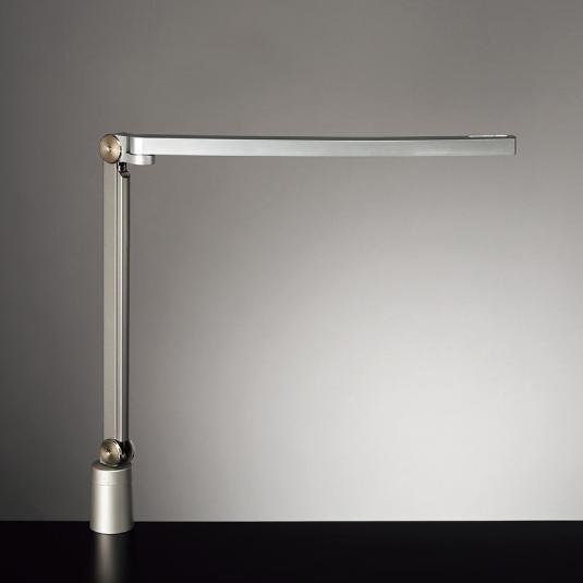 ◎yamada LEDデスクスタンド Z-LIGHT(Zライト) 連続調光 各光色無段階調光 本体色:シルバー クランプタイプ Z-S7000SL