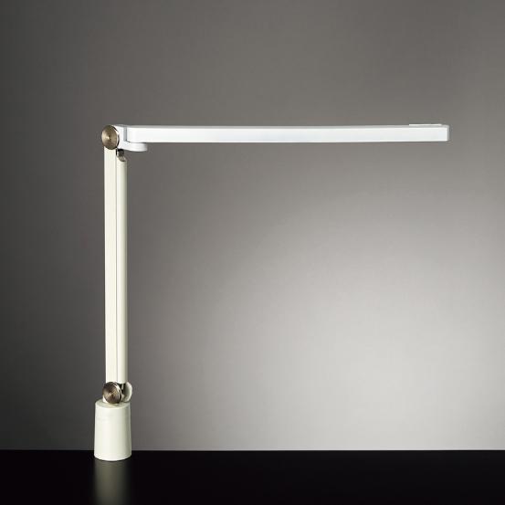 ◎yamada LEDデスクスタンド Z-LIGHT(Zライト) 連続調光 各光色無段階調光 本体色:ホワイト クランプタイプ Z-S7000W
