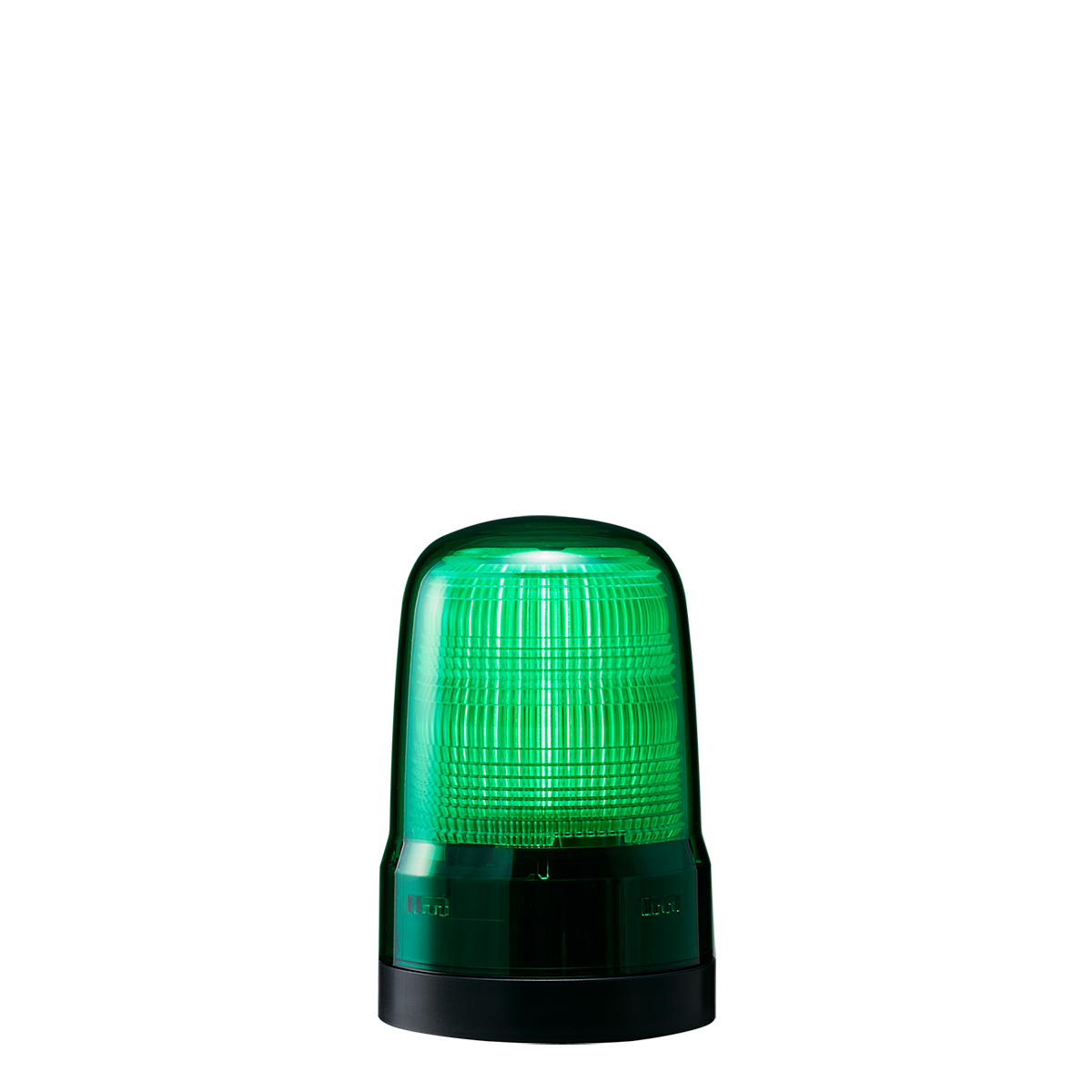 送料無料 点灯 定番から日本未入荷 点滅 フラッシュのシンプル報知 緑色灯 パトライト LED表示灯 SL φ80mm 2点穴取付 SL08-M1KTN-G DC12~24V 激安通販ショッピング 緑色 プッシュイン端子台 グリーン 2.9W