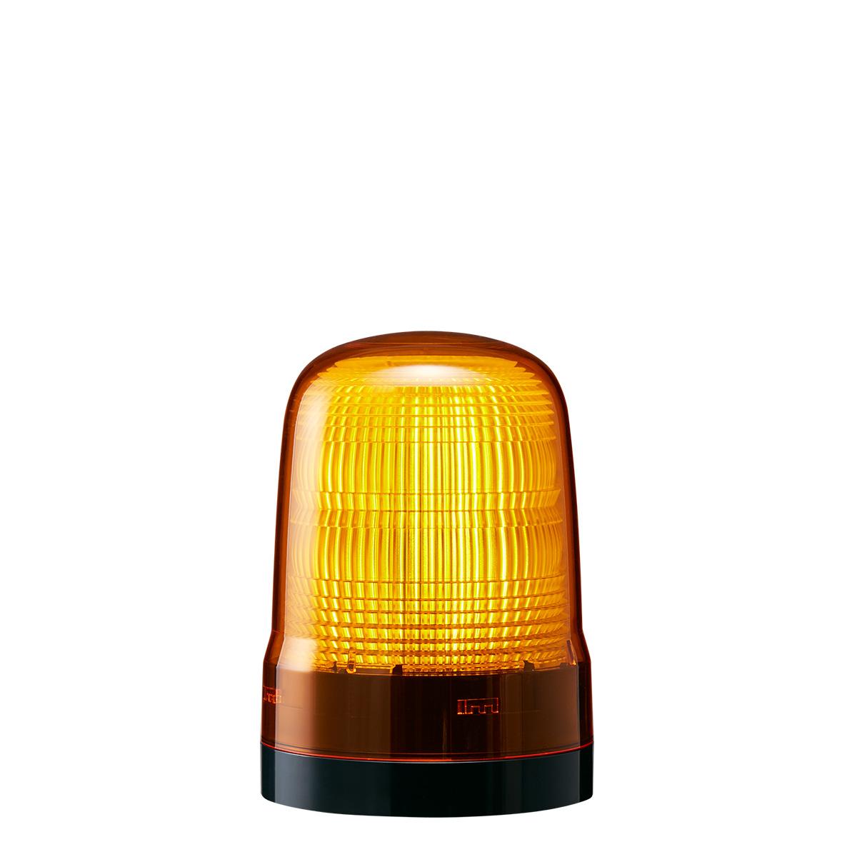 <title>送料無料 点灯 点滅 フラッシュのシンプル報知 黄色灯 パトライト LED表示灯 SL DC12~24V 2.9W φ100mm イエロー 黄色 プッシュイン端子台 限定モデル 2点穴取付 SL10-M1KTN-Y</title>