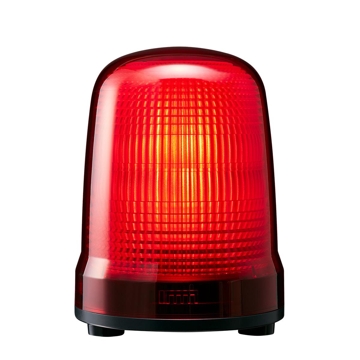 スーパーセール期間限定 パトライト LED表示灯 SL AC100~240V 5.6W 150mm レッド(赤色) キャブタイヤコード・3点ボルト足取付 SL15-M2JN-R, コクブシ 4aea132a