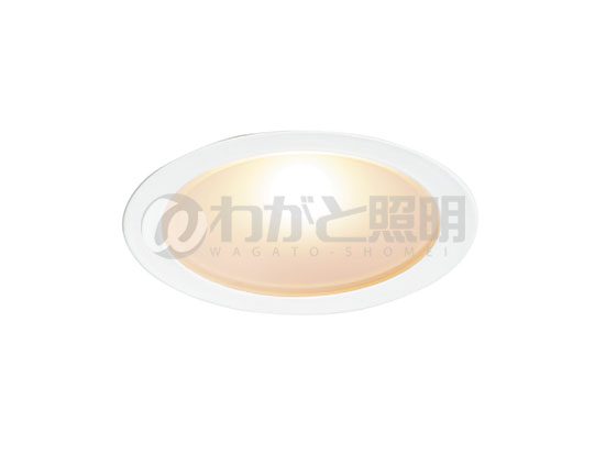 ◎DNライティング LEDダウンライト アルディラシリーズ D-EX10 薄型ダウンライト ワイド配光タイプ 調光 器具色:ホワイト ビーム角:85° 埋込穴Φ60mm 4.1W 513lm 3000K D-EX104WF ※受注生産品