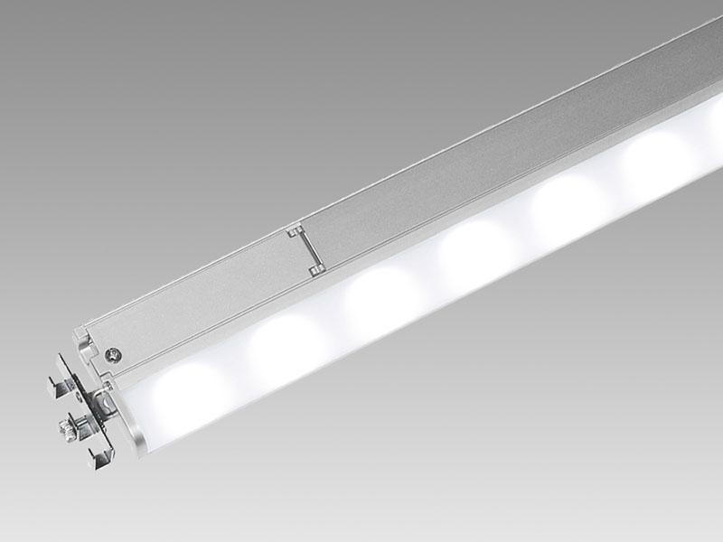 ◎TES LIGHTING LED棚下照明 15mmラインバー TEI-950X 900タイプ 本体寸法854mm 昼白色 5700K TEI-9501-57