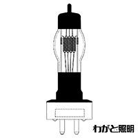 ◎パナソニック スタジオ用ハロゲン電球 GX16口金 1000W JP100V1000WC/G-5