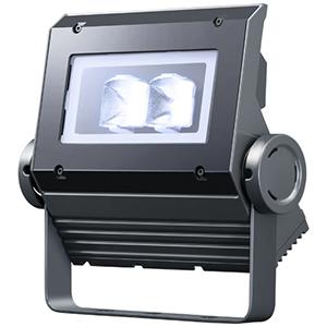 ◎岩崎 LEDioc FLOOD NEO(レディオック フラッド ネオ) LED投光器 40クラス 広角タイプ 白色(4000K)タイプ 本体色:ダークグレイ LED一体形 ECF0496W/SAN8/DG