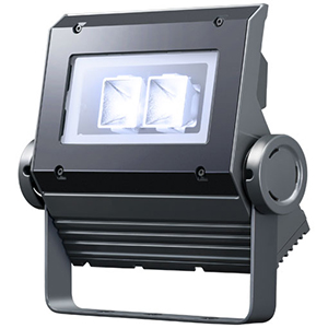 ◎岩崎 LEDioc FLOOD NEO(レディオック フラッド ネオ) LED投光器 30クラス 中角タイプ 白色(4000K)タイプ 本体色:ダークグレイ LED一体形 ECF0397W/SAN8/DG ※受注生産品