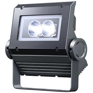 ◎岩崎 LEDioc FLOOD NEO(レディオック フラッド ネオ) LED投光器 30クラス 狭角タイプ 白色(4000K)タイプ 本体色:ダークグレイ LED一体形 ECF0398W/SAN8/DG ※受注生産品