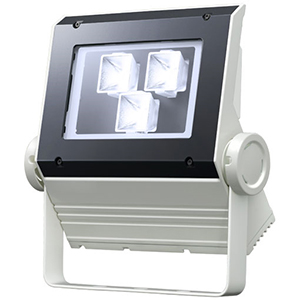 ◎岩崎 LEDioc FLOOD NEO(レディオック フラッド ネオ) LED投光器 90クラス 中角タイプ 電球色(2700K)タイプ 本体色:ホワイト LED一体形 ECF0997L/SAN8/W