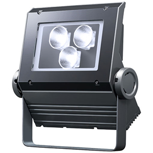 ◎岩崎 LEDioc FLOOD NEO(レディオック フラッド ネオ) LED投光器 90クラス 狭角タイプ 昼光色(6500K)タイプ 本体色:ダークグレイ LED一体形 ECF0998D/SAN8/DG