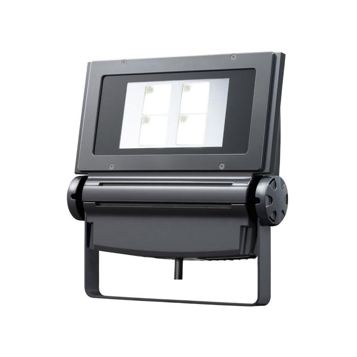 岩崎 LEDioc FLOOD NEO(レディオック フラッド ネオ) LED投光器 130クラス 広角タイプ ナトリウム色(2100K)タイプ 本体色:ダークグレイ LED一体形 ECF1392NH/SAN8/DG