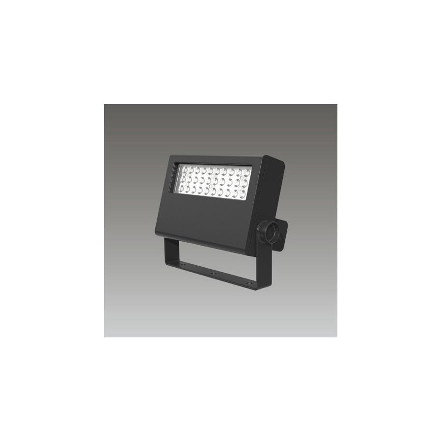 ◎東芝 屋外用LED小形角形投光器 電球色 中角タイプ 70Wコンパクトメタルハライドランプ器具相当 電源ユニット一体形 グレーイッシュブラック LEDS-04907LM-LS9 ※受注生産品