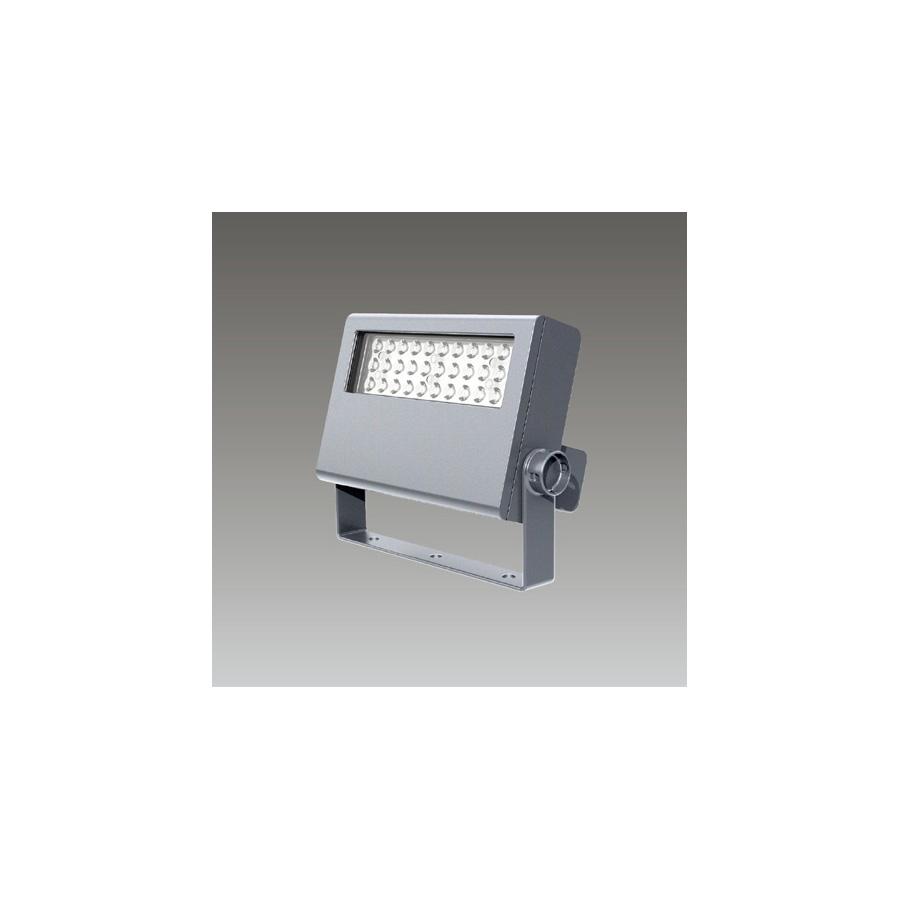 ◎東芝 屋外用LED小形角形投光器 電球色 狭角タイプ 70Wコンパクトメタルハライドランプ器具相当 電源ユニット一体形 メタリックシルバー LEDS-04908LN-LS9 ※受注生産品