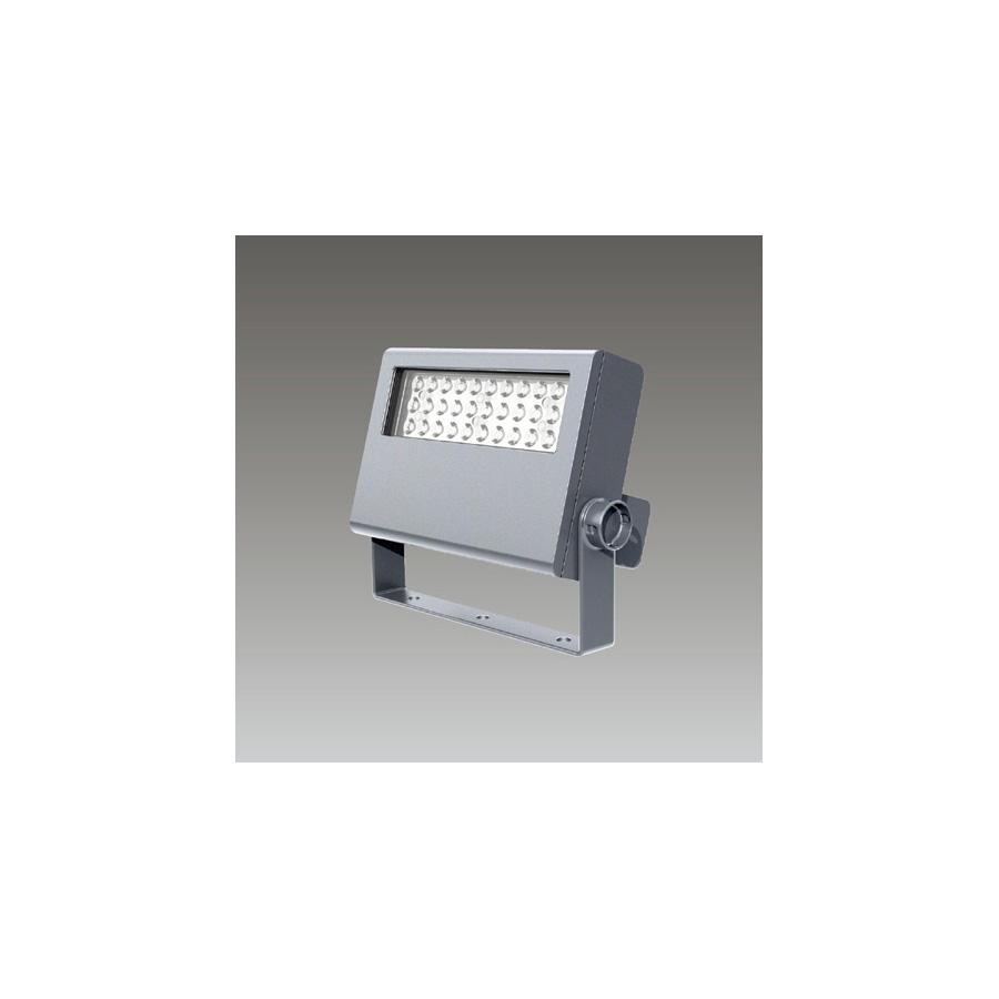 ◎東芝 屋外用LED小形角形投光器 電球色 中角タイプ 100Wメタルハライドランプ器具相当 電源ユニット一体形 メタリックシルバー LEDS-06908LM-LS9 ※受注生産品