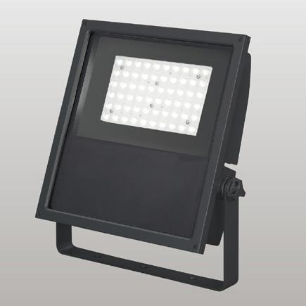 ◎東芝 屋外用LED小形角形投光器 昼白色 狭角タイプ 250Wメタルハライドランプ器具相当 電源ユニット一体形 グレーイッシュブラック 耐塩形 LEDS-13904NN-LJ9 ※受注生産品