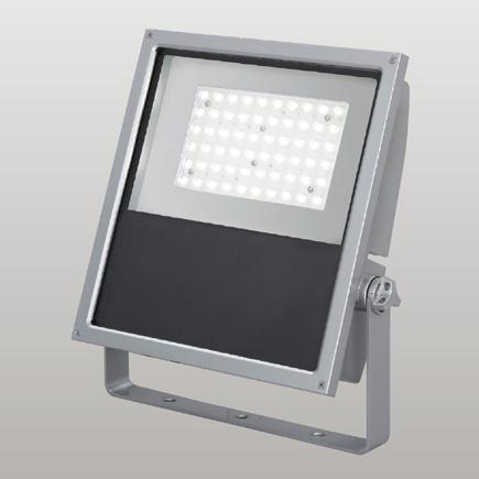 ◎東芝 屋外用LED小形角形投光器 電球色 広角タイプ 250Wメタルハライドランプ器具相当 電源ユニット一体形 メタリックシルバー LEDS-13902LW-LJ9 ※受注生産品