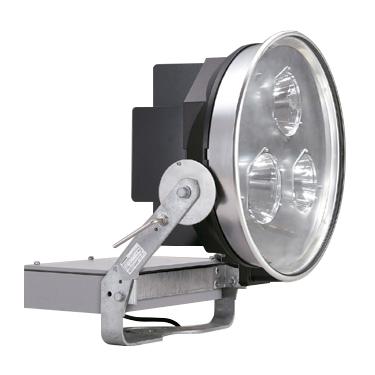 ◎東芝 屋外用LED投光器 昼白色 中角形 1kW効率重視形メタルハライドランプ器具相当 重耐塩形 電源ユニット一体形 LEDS-50410NM-LJ2 ※受注生産品
