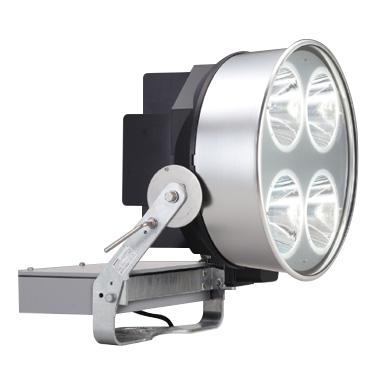 ◎東芝 屋外用LED投光器 昼白色 狭角形 1.5kW効率重視形メタルハライドランプ器具相当 耐塩形 電源ユニット一体形 LEDS-70409NN-LJ2 ※受注生産品