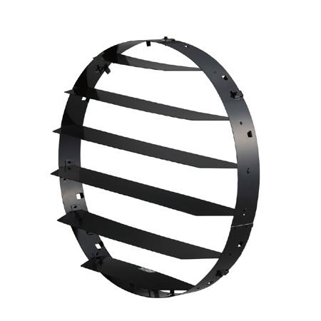 ◎東芝 LED投光器用オプション ルーバー (2kW形、1.5kW形、1kW形共通) ZL-50401 ※受注生産品