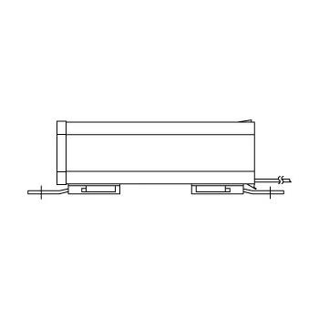 ◎岩崎 水銀灯用安定器(200V用、一般形、1灯用、高力率 300W用) H3CC2A352:50Hz用 H3CC2B352:60Hz用
