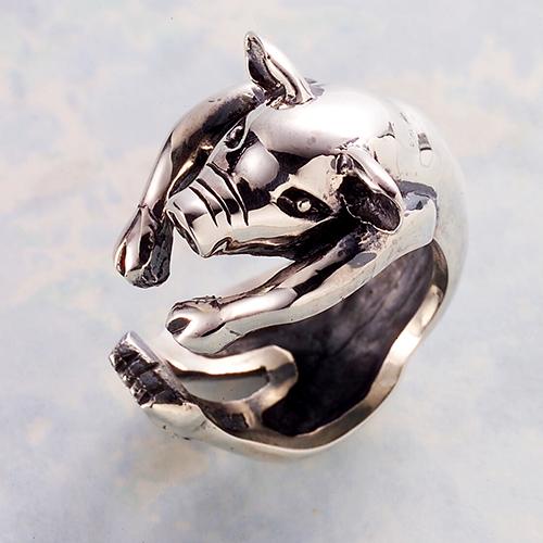 子豚リング(ブタリング)ぶた 動物モチーフ 指輪 指環 シルバーアクセサリー SILVER925 女性 男性 プレゼント ギフト対応