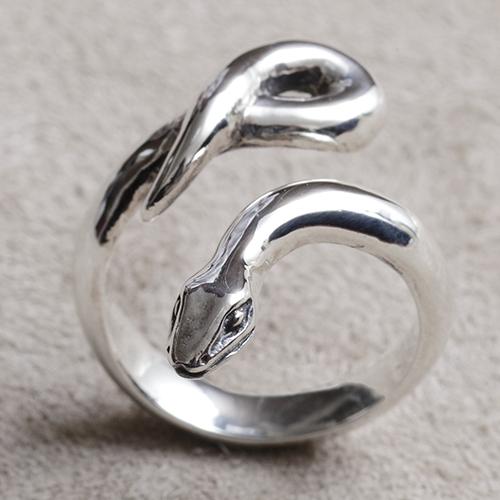 ヘビリング へび 蛇 十二支 干支 巳年 指輪 指環 シルバーアクセサリー SILVER925 女性 男性 プレゼント ギフト対応