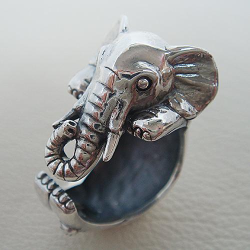 子ぞうリング ゾウ 象 動物チーフ 指輪 指環 シルバーアクセサリー SILVER925 女性 男性 プレゼント ギフト対応