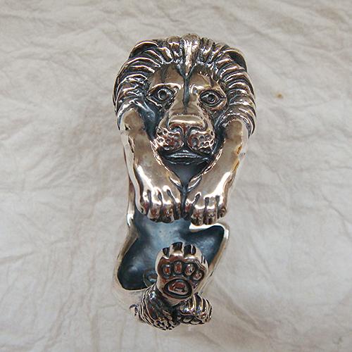 ライオンリング らいおん 獅子 動物チーフ 指輪 指環 シルバーアクセサリー SILVER925 女性 男性 プレゼント ギフト対応