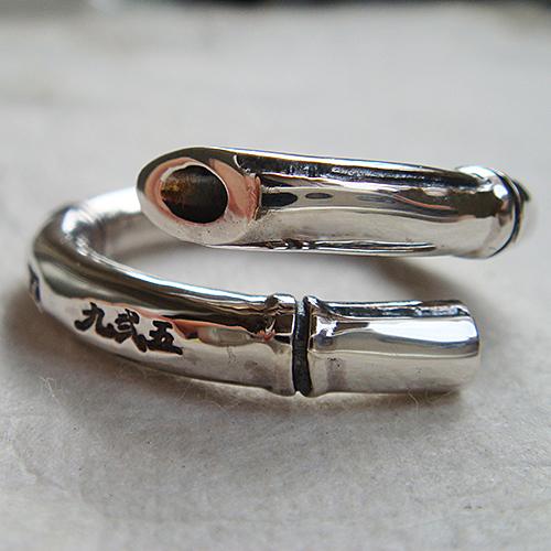 竹リング たけ バンブー 植物 和風アクセサリー 指輪 指環 シルバーアクセサリー SILVER925 女性 男性 プレゼント ギフト対応