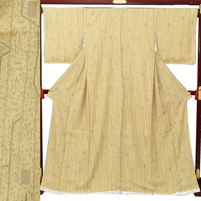 【ワゴンセール】33000【正絹】【仕立て上り 小紋・普段着】【L/F・袷せ】【プレタ】すぐ着れます!新品 kmn07